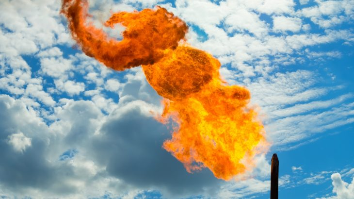 Methane is much more potent than CO2 even though it doesn't accumulate or remain in the atmosphere in the same way as other greenhouse gasses.