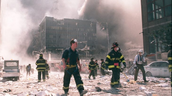 Researchers have determined that New York City first responders exposed to 9/11 World Trade Center dust have an increased risk of cardiovascular disease.