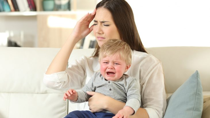 Children of mothers who are anxious during pregnancy and during the first five years of their child's life are twice a likely to express hyperactive symptoms at the age of 16.