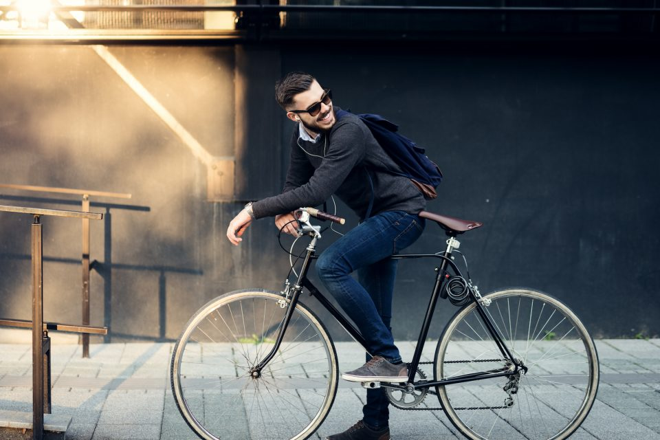 A recent study found that over one-fifth of adult bike riders in the US were not wearing a helmet when in an accident.