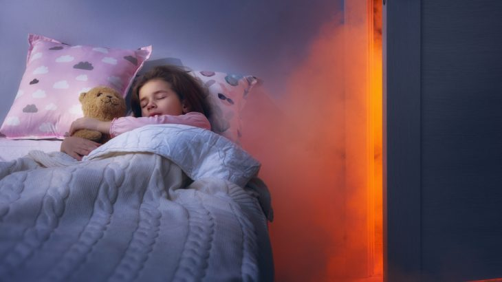 A standard fire alarm might not wake up most children, a new study has found.