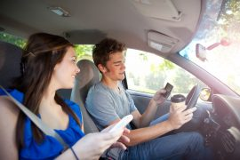 In a new survey, more than half of parents reported that their child has been a passenger in a car with a distracted teen driver behind the wheel.