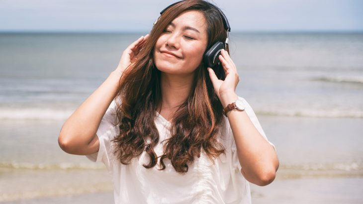 One's interpretation of musical pitch is dependent on their culture and on what kinds of music they've listened to throughout their life.