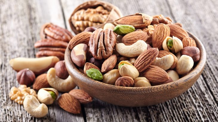 A long-term observational study has revealed that just half a serving of nuts can lower an individual's risk of obesity.