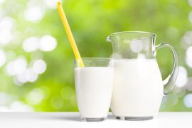 If you're worried about your fluid intake and need to stay hydrated, skip the water fountain and grab a glass of milk instead.