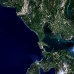 Today's Image of the Day from the European Space Agency features the Paxi islands of Greece in the Ionian Sea.