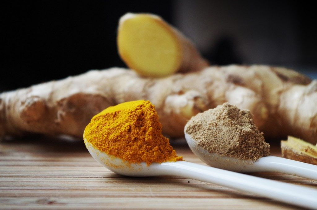 ginger root spices