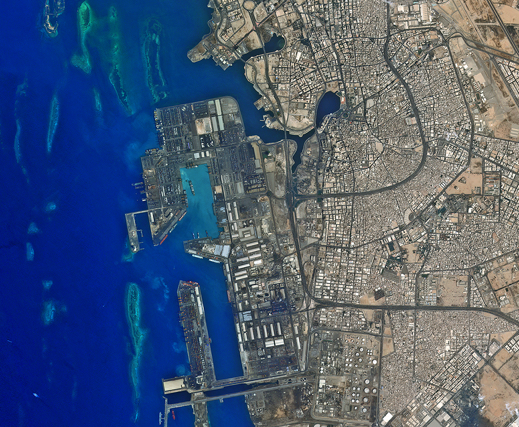 Located on the Red Sea, Jeddah is considered the economic and tourism capital of Saudi Arabia, and is the second largest city in the country.