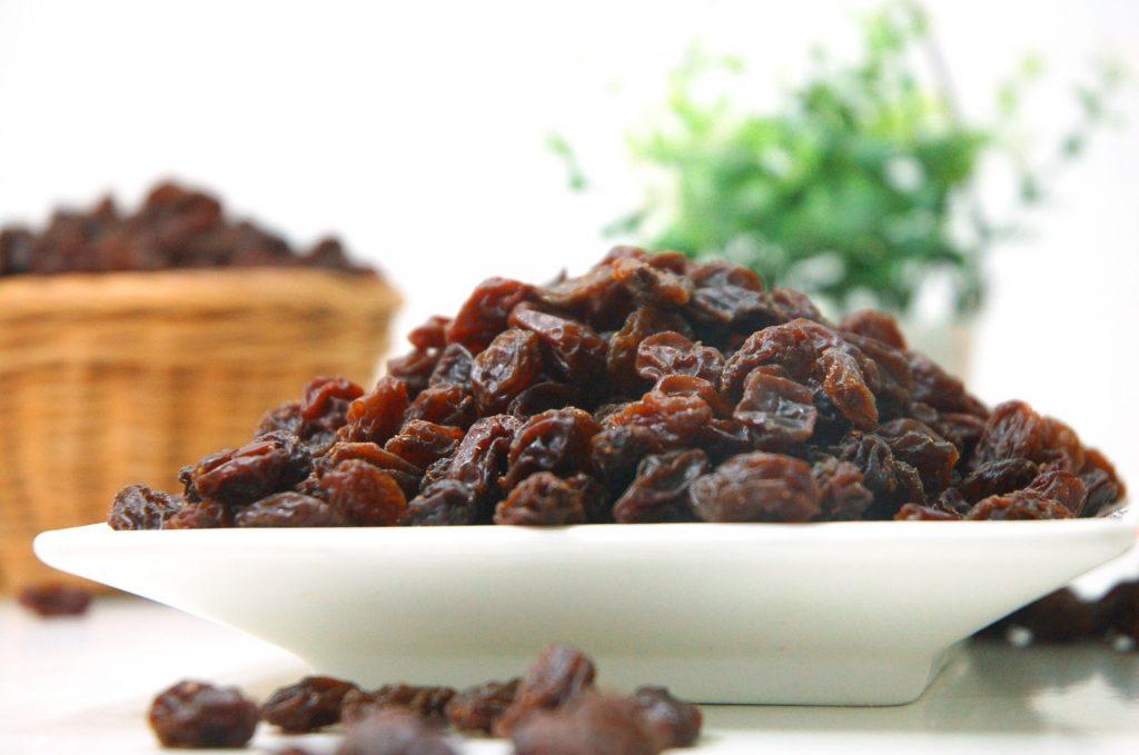 Raisins osmosis