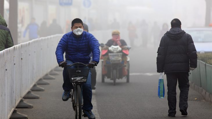 A new study published by Wiley suggests that the mysterious pollution is linked to the interactions of secondary aerosols with long-range transport.