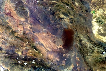 Today's Image of the Day from the European Space Agency features the Dasht-e Lut salt desert in southeastern Iran.