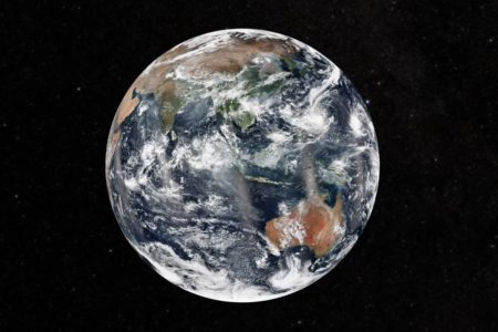 Today's Image of the Day features a view of the Earth from the COVID-19 Earth Observing Dashboard.