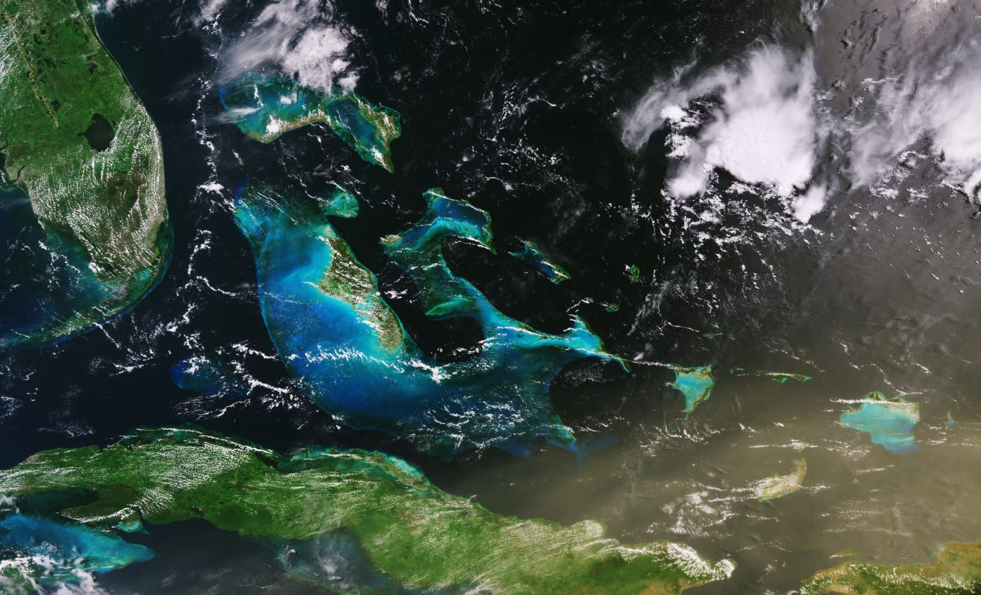 Today's Image of the Day from the European Space Agency features a massive Saharan dust cloud over Cuba.