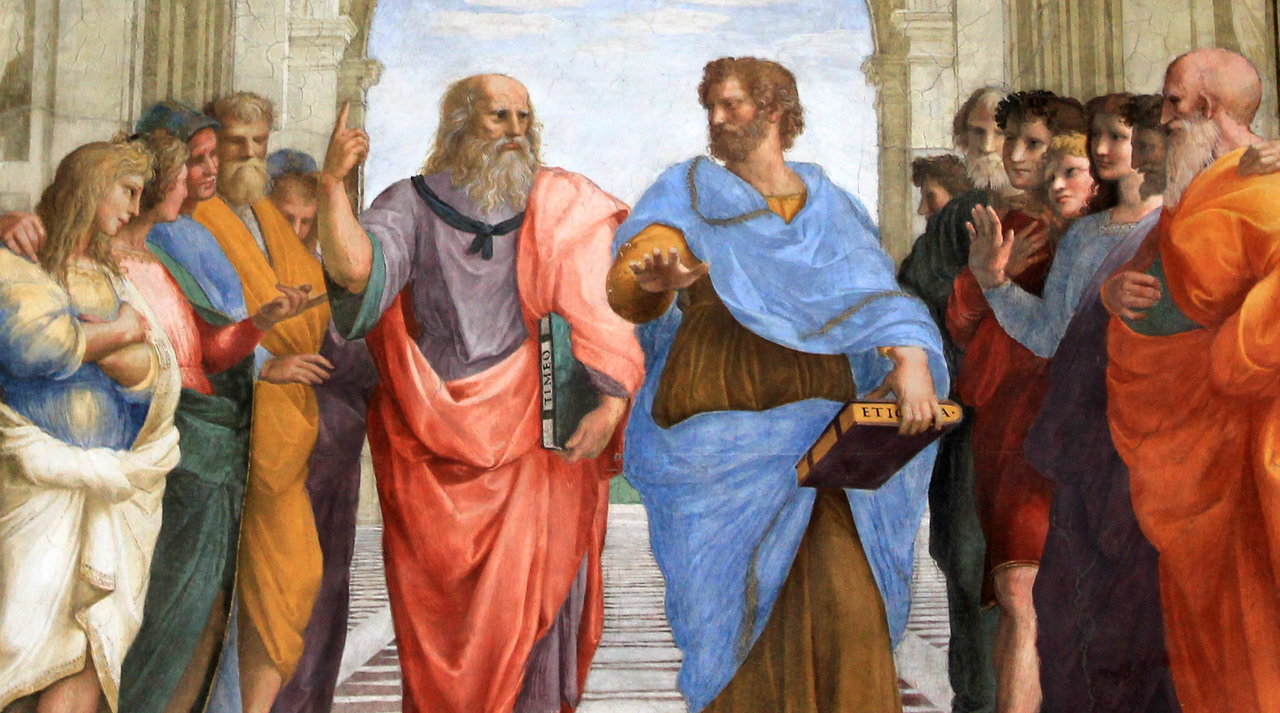 School of athens ancient greece painting Raphael