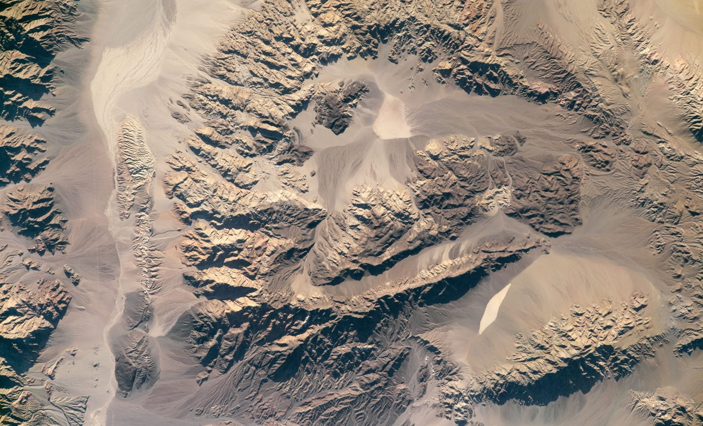 Today's Image of the Day from NASA Earth Observatory features the southern end of Death Valley National Park.