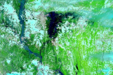 Today's Image of the Day from NASA Earth Observatory captures devastating and widespread flooding in Bangladesh.