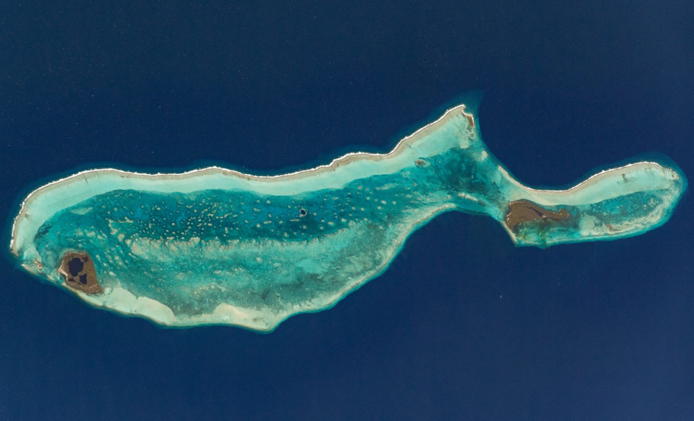 Today's Image of the Day from NASA Earth Observatory features the Great Blue Hole, which is located off the coast of Belize in the Caribbean Sea near the center of the Lighthouse Reef atoll.