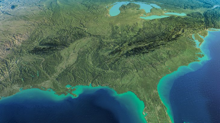 While it is known that the Gulf of Mexico receives high levels of nutrient runoff, it has not been clear whether these nutrients travel out of the Gulf and affect the chemical composition of surrounding waters in the Atlantic Ocean.