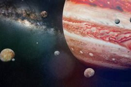 Jupiter's moons are hotter than they should be, considering their distance from the sun, and scientists at the University of Arizona are explaining why