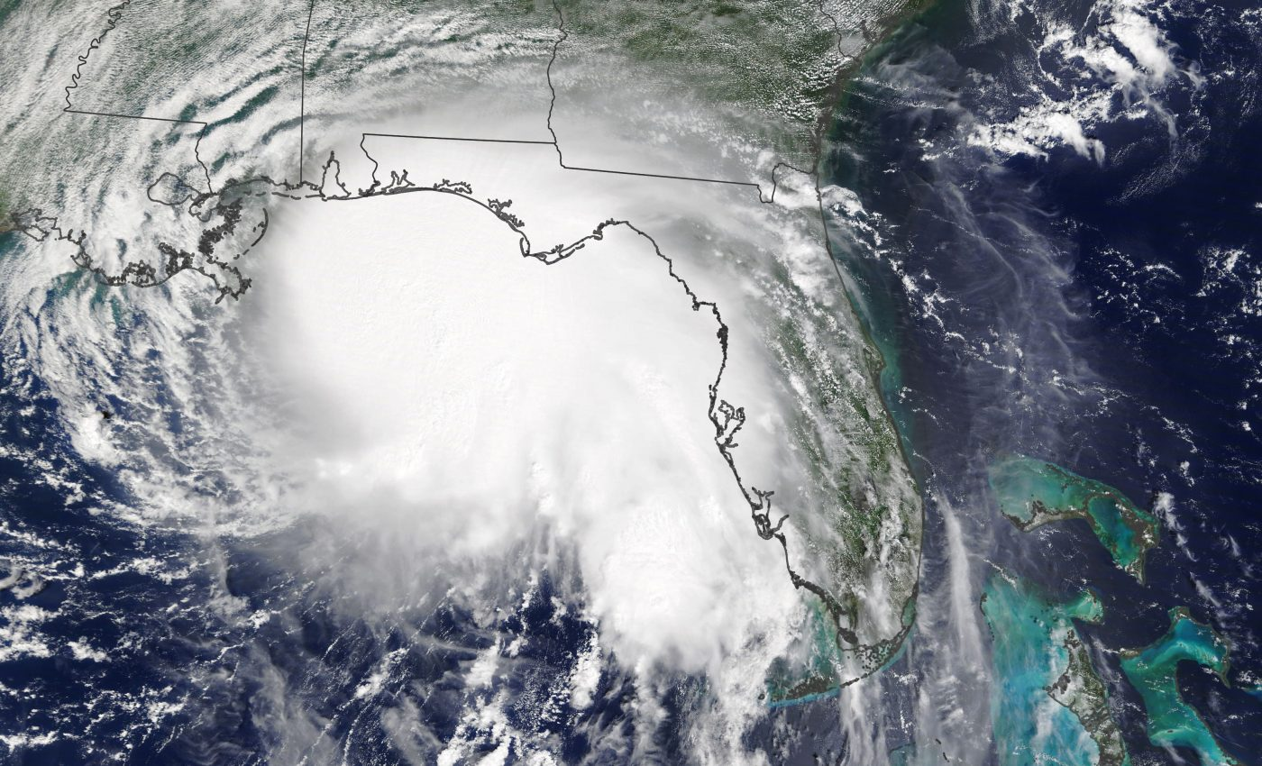 Today's Image of the Day from NASA Earth Observatory features Hurricane Sally, which is quickly gaining momentum as it approaches the U.S. Gulf Coast.