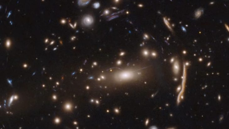 Today's Video of the Day from NASA Goddard describes a puzzling new discovery in the way that dark matter behaves in space.