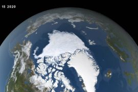 This year's Arctic sea ice minimum was the second lowest on record, according to a new study from NASA Goddard
