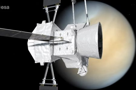 Today's Video of the Day from the European Space Agency describes the BepiColombo mission as it prepares to fly by Venus.