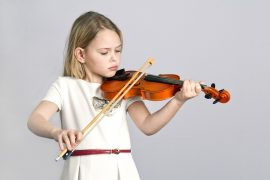 The researchers found that musically trained children have greater activation in brain regions related to attention control and auditory encoding