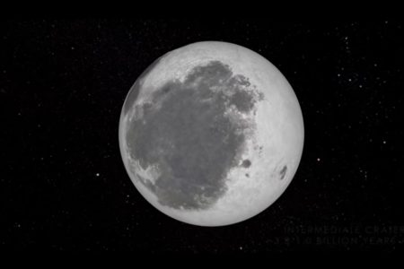Today's Video of the Day from NASA Goddard features an amazing look at the evolution of the moon.