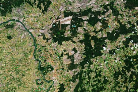 Today's Video of the Day from the European Space Agency features the Frankfurt Rhine-Main region in south central Germany.