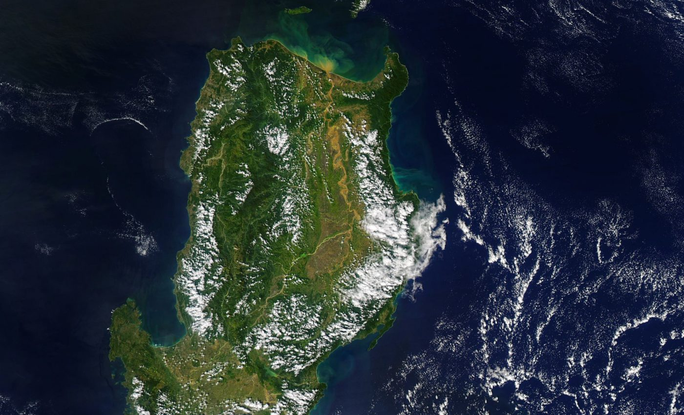 Today's Image of the Day from NASA Earth Observatory features the northern portion of Luzon Island in the Philippines just after the country was ravaged by Typhoon Vamco, the third typhoon to impact this region in just four weeks.
