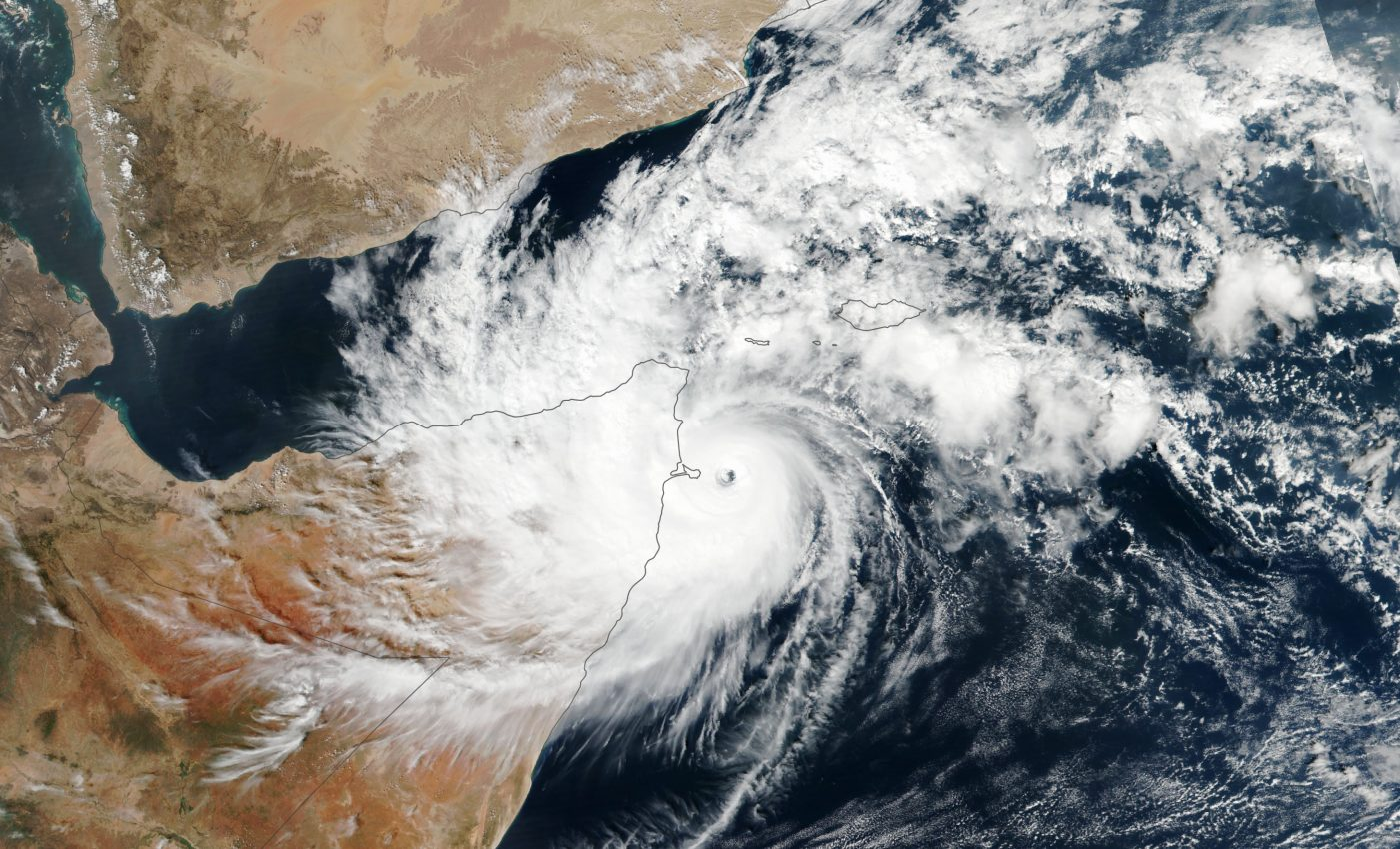 Today's Image of the Day from NASA Earth Observatory shows Somalia being invaded by Cyclone Gati, the strongest storm to impact this region in more than 50 years.