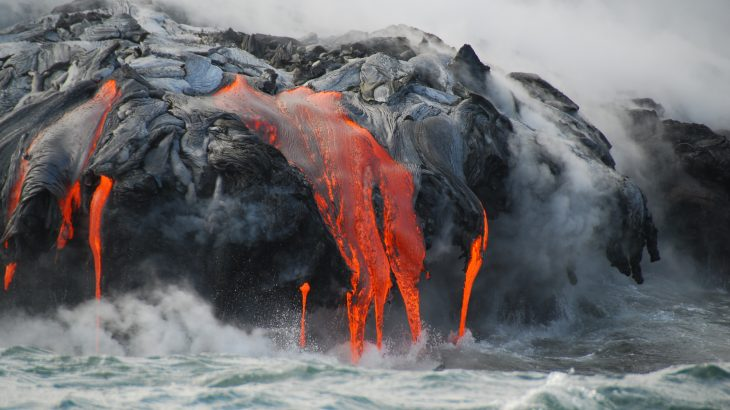 A new study from UH Mānoa and the USGS has revealed that the massive Kīlauea eruption was triggered by relatively small changes, including the accumulation of pressure in the upper parts of the volcano that drove magma into the lower flank.