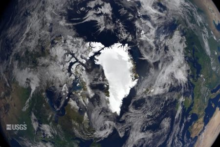 Today's Video of the Day from the USGS describes a rift that is expanding across the Petermann Glacier in northwestern Greenland.
