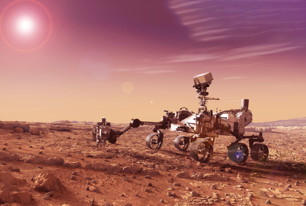 space exploration, mars rover