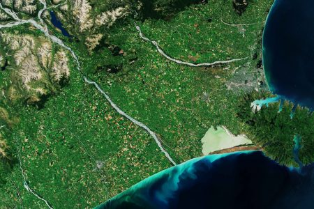 Today's Video of the Day from the European Space Agency features the Banks Peninsula on the South Island of New Zealand.