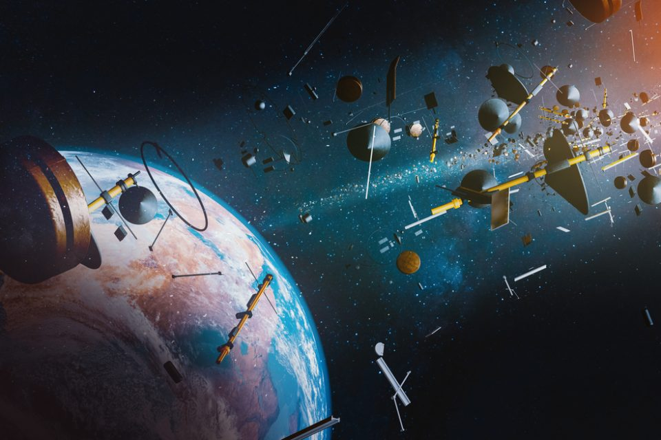 junk in outer space