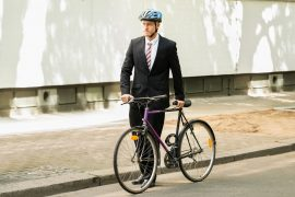 """Experts at Imperial College London report that """"active travel,"""" such as walking and cycling, can help tackle the climate crisis."""