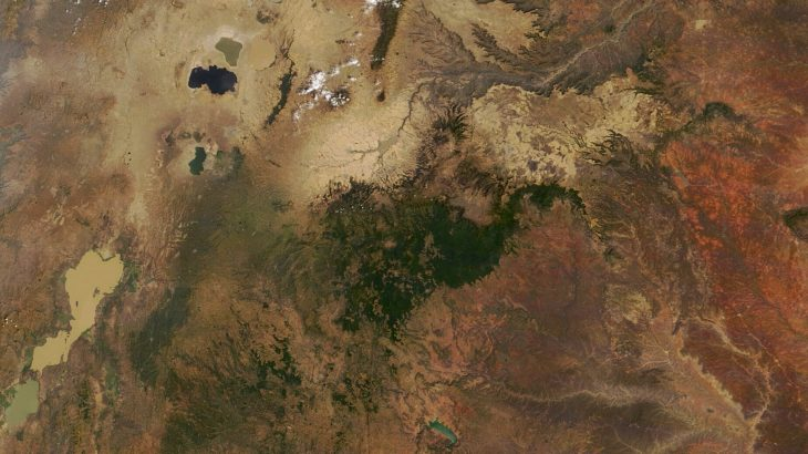 Today's Image of the Day from NASA Earth Observatory features the Harenna Forest, a highland forest region of the Bale Mountains in southeastern Ethiopia.