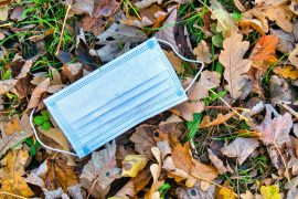 Disposable face masks made from plastic microfibers are a ticking time bomb for the environment, according to a new study from the University of Southern Denmark