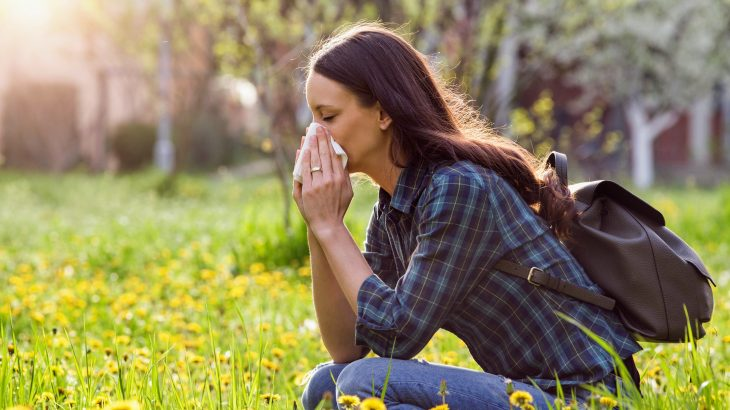 Grass pollen is responsible for respiratory conditions such as allergic asthma and hay fever.
