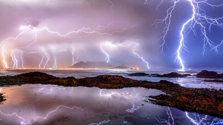 A new study from UC Irvine indicates that summertime lightning storms in the Arctic will soon become much more common, as the weather is transformed by global warming.