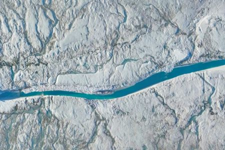 Today's Video of the Day from NASA Goddard reveals that bottomless sinkholes are funneling meltwater to the base of the Greenland Ice Sheet.