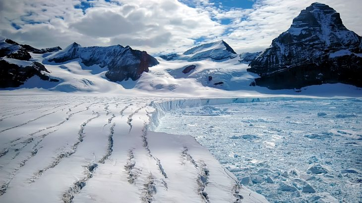 In a new study from the University of Reading, scientists warn that much of the Antarctic ice shelf is at risk of collapsing as the climate continues to warm.