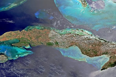 The Caribbean islands of Cuba