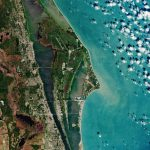 Today's Video of the Day from the European Space Agency features Cape Canaveral, which is both a cape and city in Brevard County in Florida.