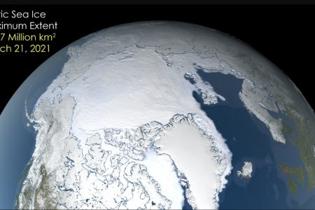 Today's Video of the Day from NASA Goddard describes the maximum extent of sea ice in the Arctic for 2021, which tied for the seventh-lowest extent on record.
