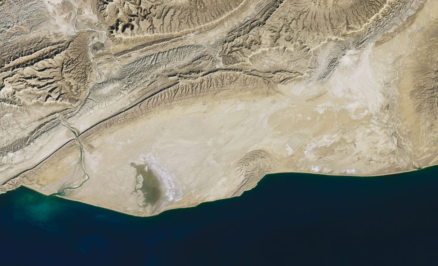 Today's Image of the Day from NASA Earth Observatory features Hingol National Park, one of the natural wonders of Pakistan.