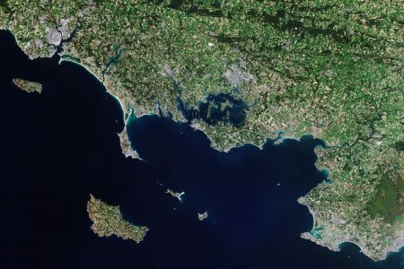 Today's Video of the Day from the European Space Agency features Morbihan, a French department in the south of Brittany.