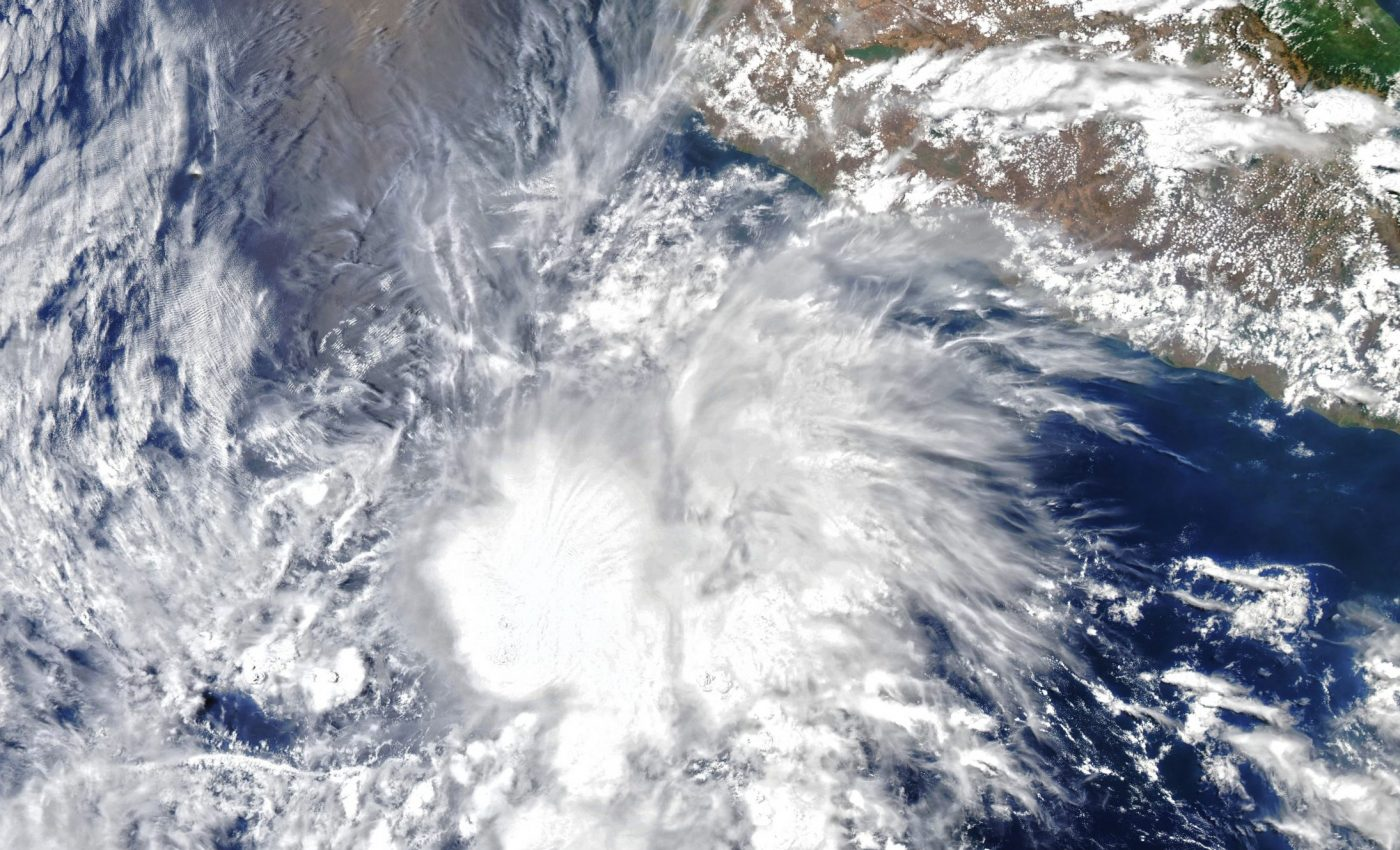 Today's Image of the Day from NASA Earth Observatory features Tropical Storm Andres, which was this year's first tropical storm in the Western Hemisphere.